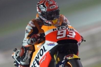 Marquez ook na tweede dag bovenaan in Qatar