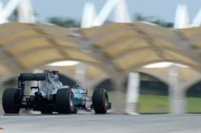 Rosberg topt derde training in Maleisië, Verstappen negende