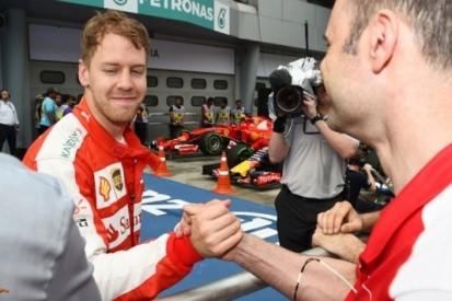 Vettel zet Ferrari op plek twee tijdens kwalificatie