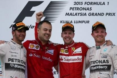 Vettel doorbreekt hegemonie Mercedes, punten voor Verstappen