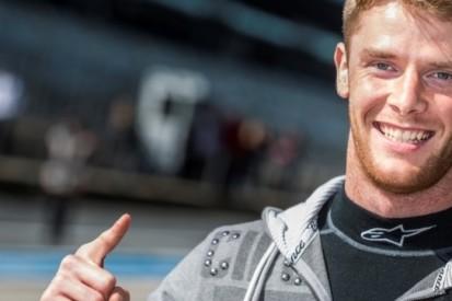 Melker voor Hilmer Motorsport in actie tijdens GP2-test