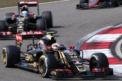 Maldonado niet boos op Button na touché in slotfase