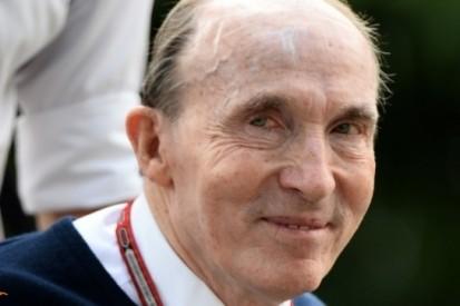 Frank Williams denkt niet aan stoppen met Formule 1