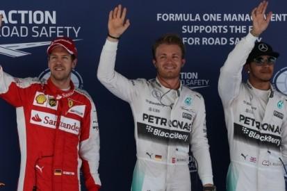 Verstappen evenaart beste startpositie met P6, Rosberg op pole