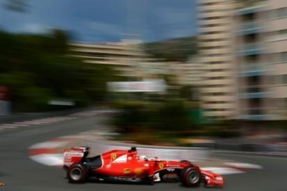 Vettel rapste in derde training, Verstappen raakt vangrail