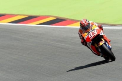 Marquez met weergaloze ronde naar pole in Duitsland