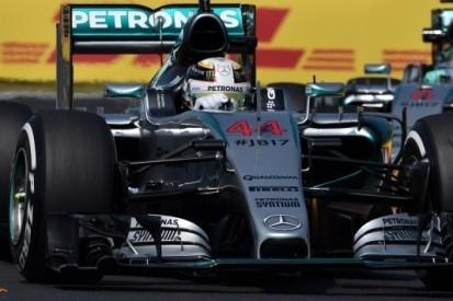 Hamilton opnieuw snelste in Hongarije, Verstappen zevende