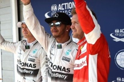 Hamilton hengelt in Hongarije negende pole van 2015 binnen