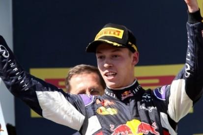 Kvyat grijpt allereerste podiumplaats in Formule 1