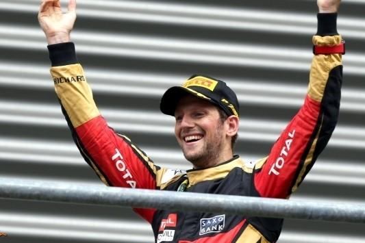 """Lotus lyrisch over Grosjean: """"Perfecte race gereden"""""""