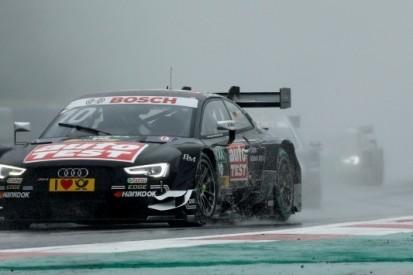 Race schorsing in DTM na 'rijd hem eraf'-order