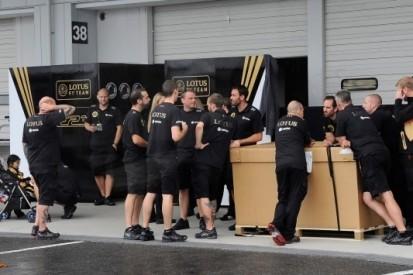 Lotus kent problematische aanloop naar Japanse GP