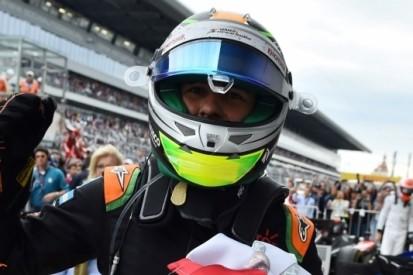 Perez profiteert van crash in slotfase en pakt podiumplaats