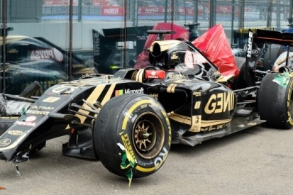 Grosjean houdt niets over aan zware crash in Sotsji