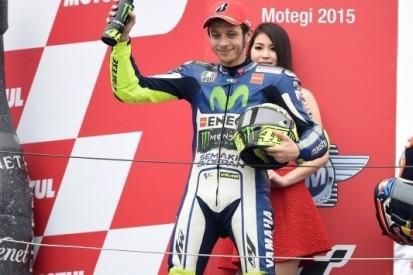 Rossi blij met tweede plek na 'stressvolle' race in Motegi