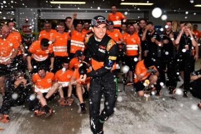 Force India ligt op koers voor vijfde plaats