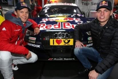 Verstappen brengt bezoek aan seizoensfinale DTM