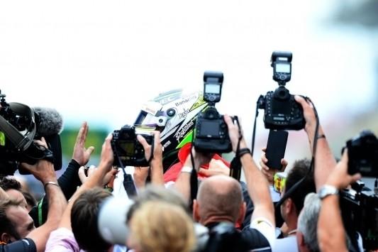 Het Formule 1-weekend in Rusland in vijf foto's