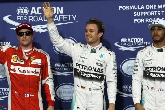 Rosberg naar pole, Sainz houdt Verstappen uit Q3