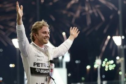 """Rosberg: """"Geweldig om het seizoen zo af te sluiten"""""""