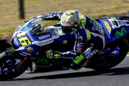 Rossi tevreden, Lorenzo heeft probleem met voorkant