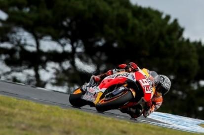Marquez klokt snelste tijd op chaotische laatste testdag