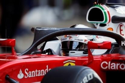 Vettel denkt dat halo Surtees en Wilson gered had