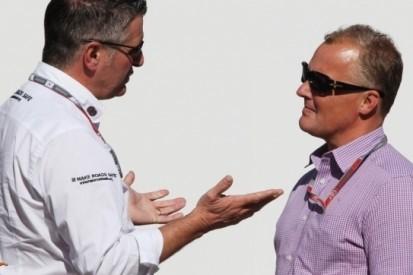 Donnelly rijderssteward in Australische Grand Prix
