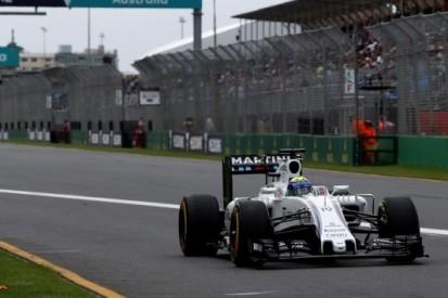 """Williams zit FP2 uit: """"De baan droogde niet op"""""""