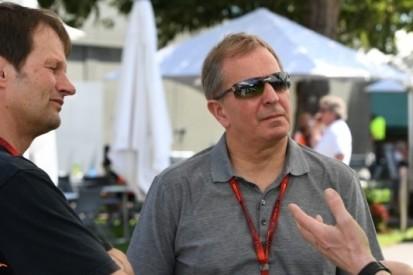 """Brundle over Verstappen: """"Hij moet niet zo'n heethoofd zijn"""""""