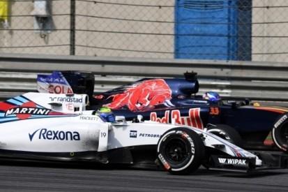 Massa 'heel blij' met optreden in China, Bottas niet