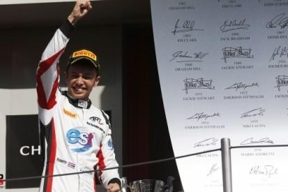 Albon wint sprintrace in GP3, De Vries vijfde