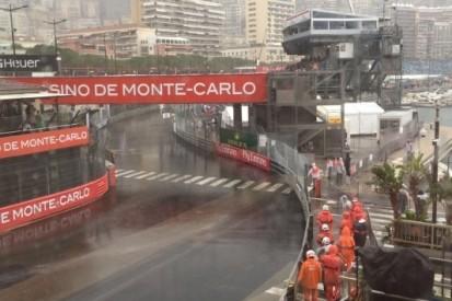 Hevige regenval op zondagochtend in Monte Carlo