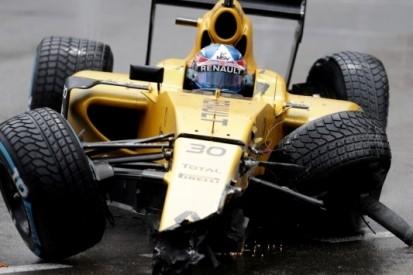 Palmer krijgt nieuw chassis na klapper in Monaco