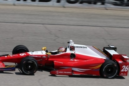 Muñoz flitst naar eerste IndyCar-pole in Fort Worth