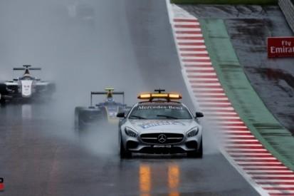 GP3-race in Spielberg valt vrijwel geheel in het water