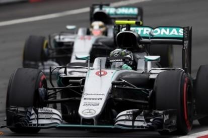 Ecclestone wil geen teamorders zien bij Mercedes