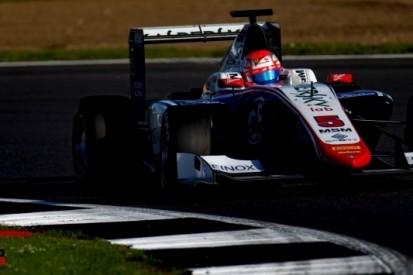 Twee Nederlanders in de punten in chaotische GP3-race