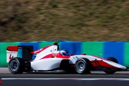 Drama voor De Vries in hoofdrace GP3, Parry wint