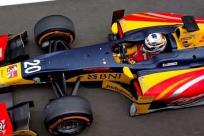 Giovinazzi achteraan de grid gezet voor hoofdrace GP2