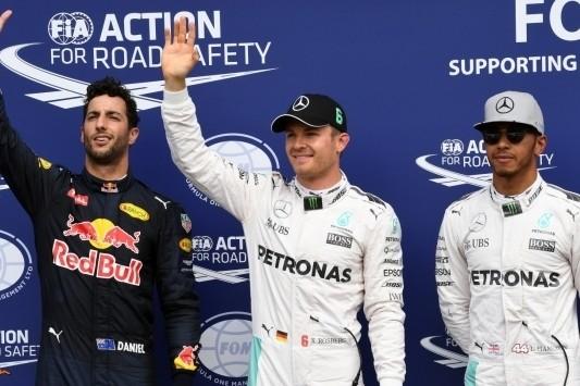 Rosberg pakt pole in Duitsland, Verstappen vierde