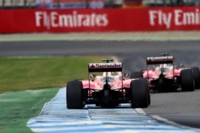 Teleurstelling bij Ferrari over vijfde en zesde plaats