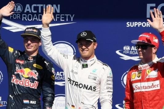 Pole Rosberg, Verstappen op eerste startrij in Spa!