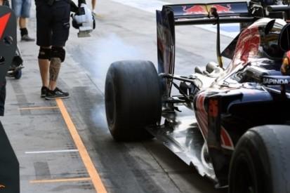 Kvyat probeert er het beste van te maken in Monza
