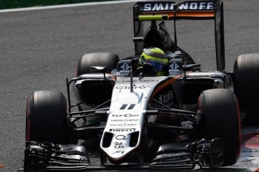 Force India ook in Italië met twee auto's in de punten