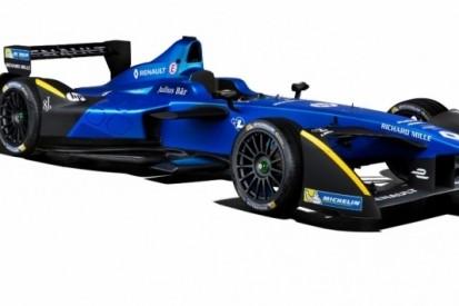 Renault e.dams presenteert nieuwe kleurenstelling