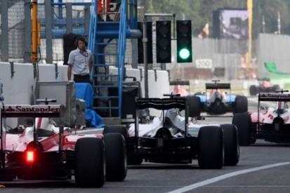 Kwalificatieformat in Formule 1 wijzigt niet in 2017