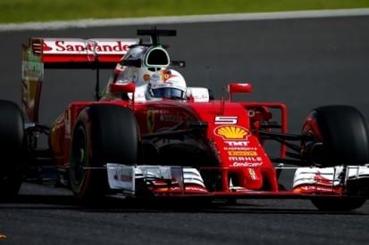 """Vettel over eerste dag: """"Balans nog niet zoals ik dat wil"""""""
