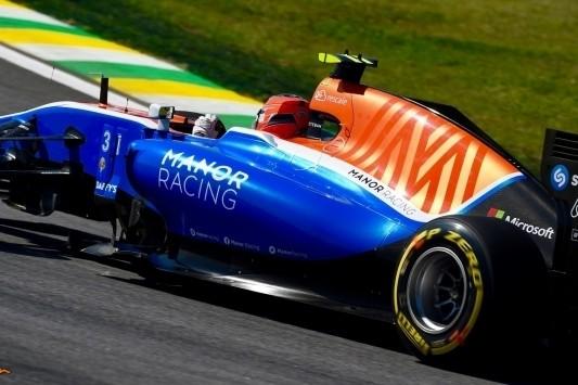 Ocon ontvangt gridstraf wegens hinderen Palmer