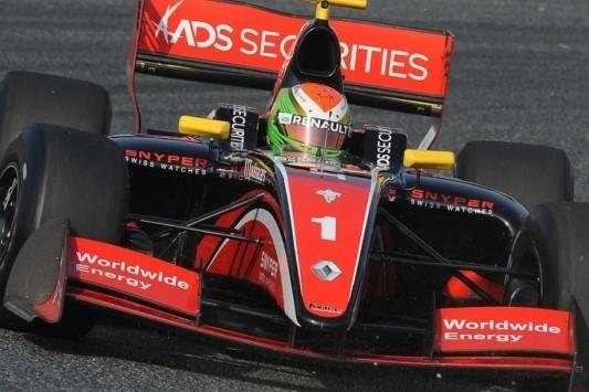 Deletraz maakt in Abu Dhabi debuut in GP2 Series